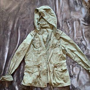 Aeropostale women's army jacket